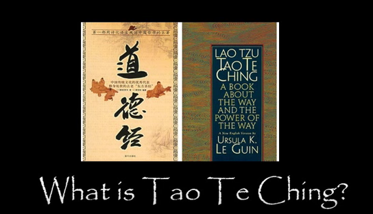 What Great Thinkers talk about Tao Te Ching